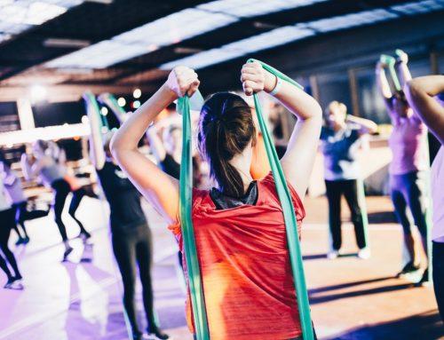 Wohlfühlen im Alter durch Fitness